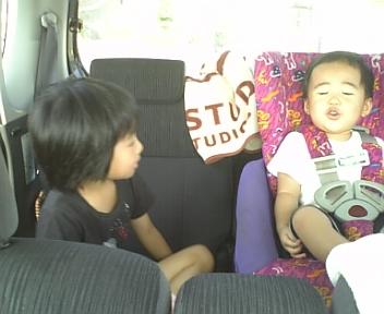 2011/08/15 21:22/姉と弟