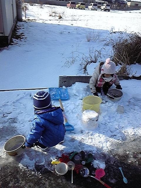 2012/01/02 10:22/雪あそび☆