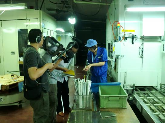 2012/08/23 09:09/NHKの取材