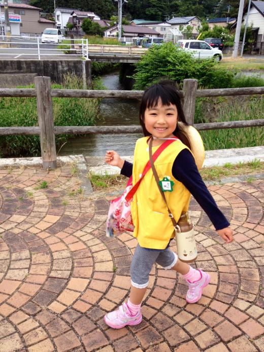 2012/06/14 15:34/カエデと歩いて幼稚園(^ ^)