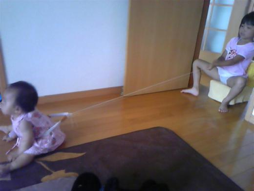 2012/07/11 22:16/小春が( ̄▽ ̄;)
