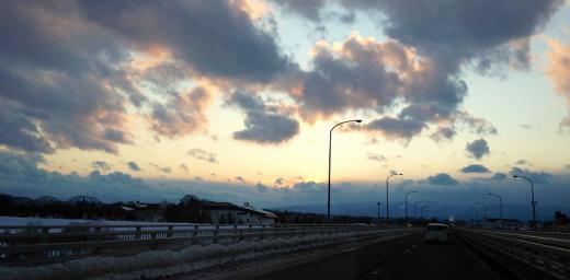 2012/02/17 18:21/●今日の夕焼け空♪