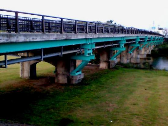 2011/10/07 06:42/朝の松川橋。