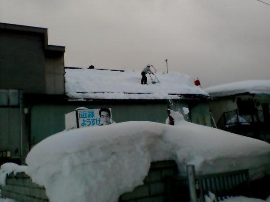 2012/01/17 21:36/今日は例の雪を、、、