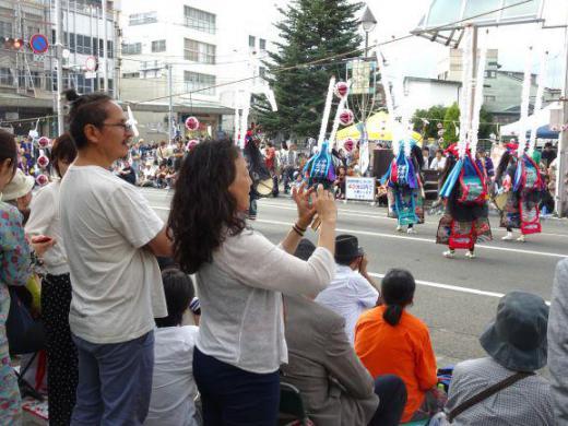 2019/09/25 17:03/鹿踊りと外国人ダンサ−、そしてラグビーワールドカップ