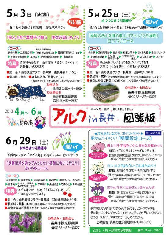 2013/04/20 14:30/【楽しくあるきましょ〜アルク&さくら通信+゜*】