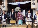 「成田黒獅子祭り �獅子が出ます」画像