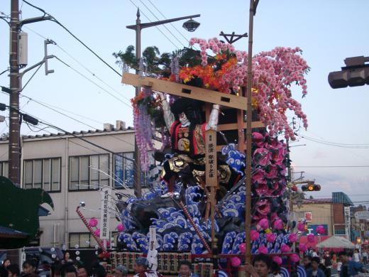 2012/09/15 06:19/○土沢祭り開幕です!!の巻!^^