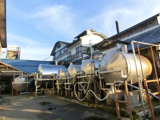 2011/10/30 09:44/◆昭和時代の工場  日本製乳  @@@