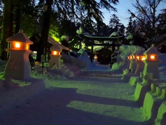 2018-2-9 上杉雪灯篭まつりプレ点灯:2018/02/10 09:49
