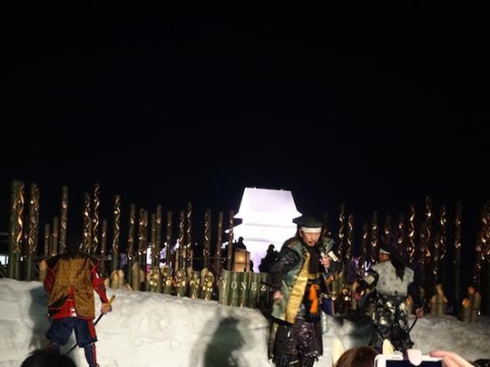 2018-2-10 第41回上杉雪灯篭まつり:2018/02/11 07:37