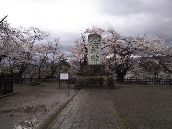 招魂碑(樹齢130年以上の桜):2018/04/15 12:18