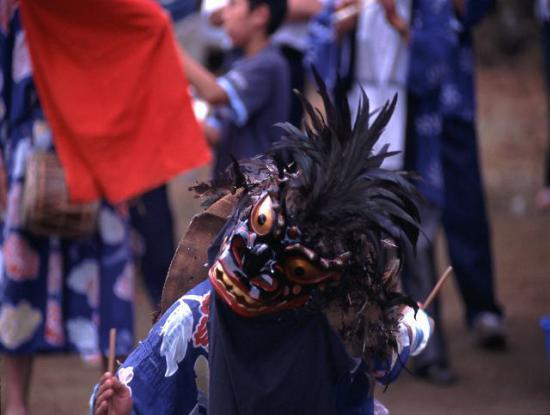 2019/08/15 08:36/綱木の獅子踊り(つなぎのししおどり)