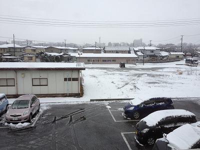 2012/03/24 07:34/●いわて花巻はべちゃべちゃ雪(´・_・`)