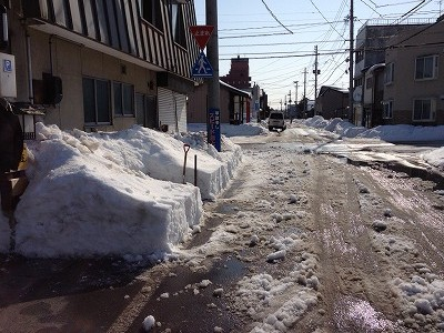 2013/02/01 12:21/●除雪しました!(>人<;)