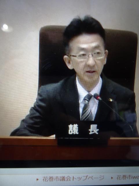 2020/03/03 12:18/「新型コロナウイルス」対応で、花巻市議会が緊急質問