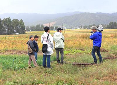2011/09/30 16:18/【BSプレミアムにフラワー長井線が登場〜撮影が行われました!】