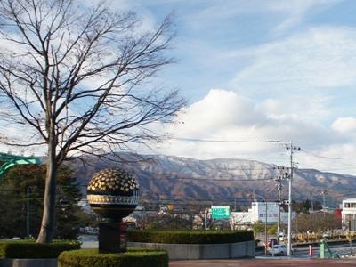 「【初冠雪!】」画像