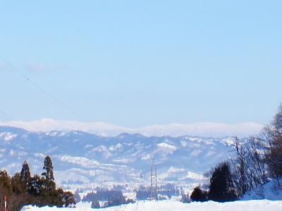 「【道照寺平スキー場から…蔵王が..」画像