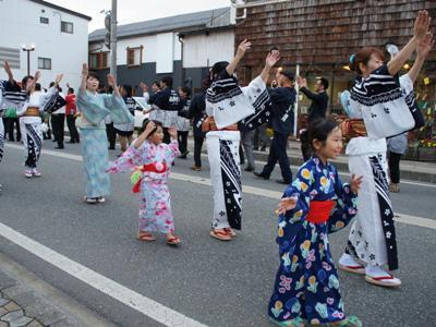 2014/07/07 13:54/【笑顔あふれる 長井おどり大パレード!】
