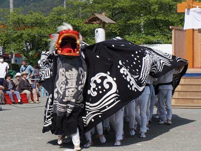 2015/05/23 15:00/【第26回ながい黒獅子まつり〜豊里神社(時庭)】