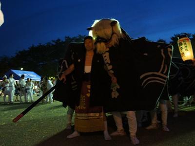 2015/05/23 19:25/【第26回ながい黒獅子まつり〜稲荷神社(九野本)】