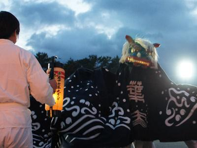 2016/05/21 19:20/【第27回ながい黒獅子まつり〜葉山神社(白兎)】
