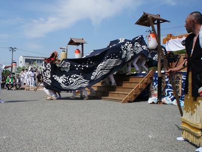 2017/05/20 14:15/【第28回ながい黒獅子まつり−八雲神社(九野本)−】
