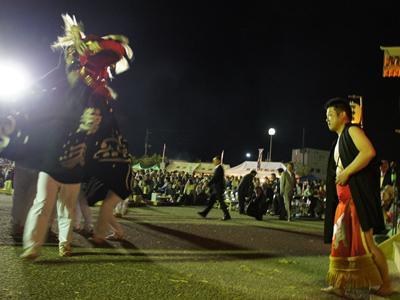 2017/05/20 20:10/【第28回ながい黒獅子まつり−葉山神社(白兎)−】