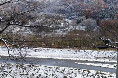 2017/11/20 16:00/【初雪が降りました】