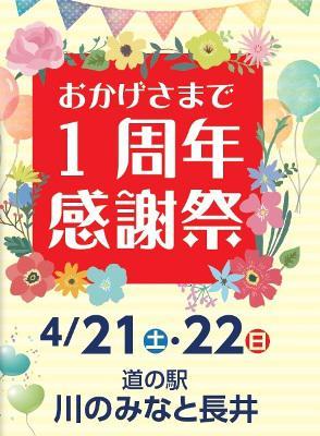 2018/04/11 15:30/【「川のみなと長井」1周年感謝祭 予告 *+:。:*゚ さくら通信 2018+:。:*】