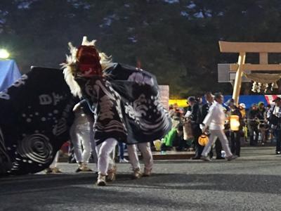 2018/05/19 19:10/【第29回ながい黒獅子まつり−八雲神社(九野本)−】