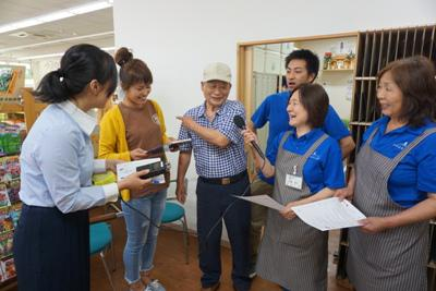 2018/06/13 15:00/【「菜なポート南店」ラジオCM収録】