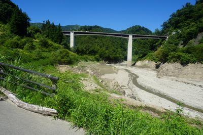 2018/08/23 13:30/【長井ダム(ながい百秋湖)の様子】