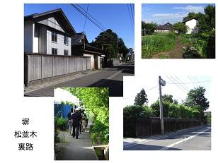 2013/02/23 21:44/木造駅舎の魅力 �松並木・裏道