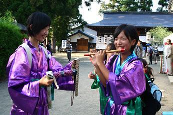 2014/09/04 21:36/成田村にデデンコの音色が響きます