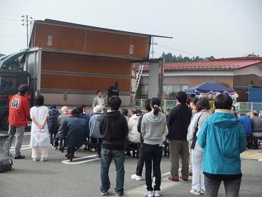 2014/10/28 21:56/長井線祭り in  成田駅